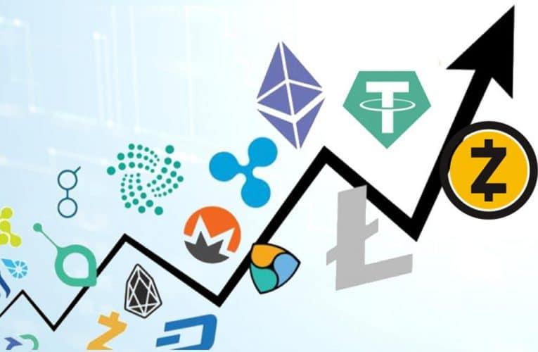 Altkoinai. Jų grupės ir bendra vertė arba kapitalizacija (market cap)
